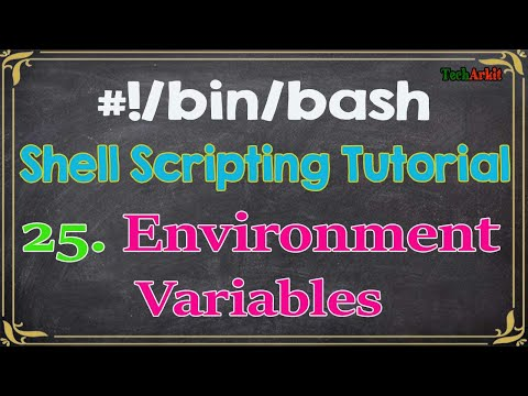 Environment Variables | Life Saver For Linux Administrators | Tech Arkit | Shell Scripting Tutorials
