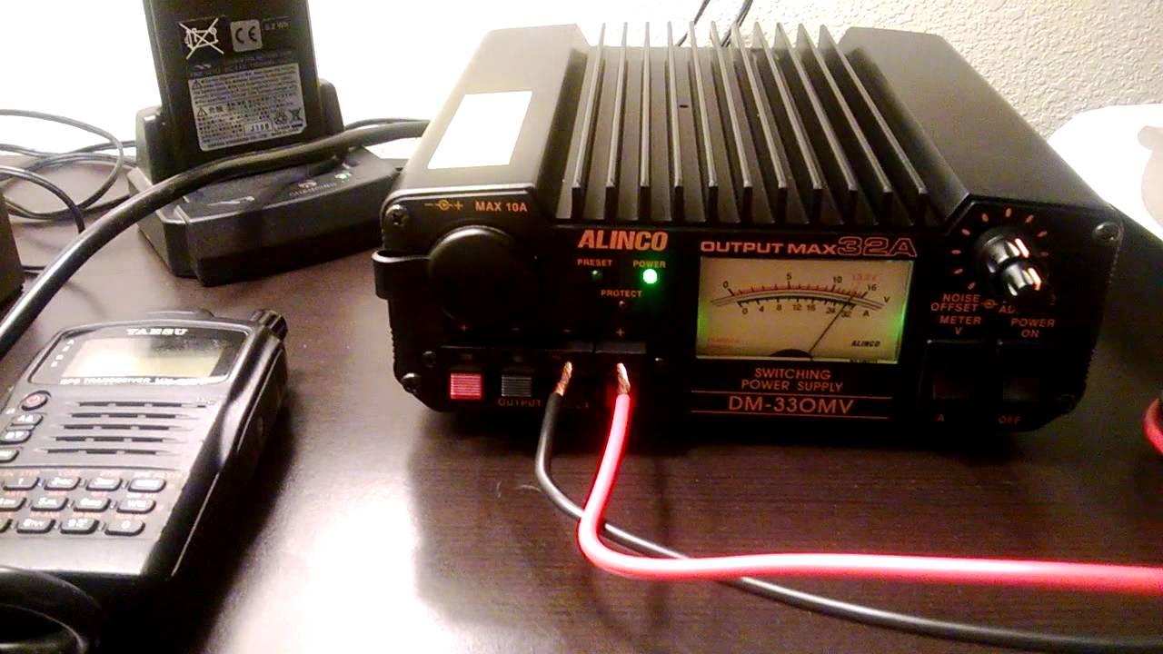 Alinco Dm 330mv Vs Powerwerx Sps 30dm Youtube 138v 10a Power Supply