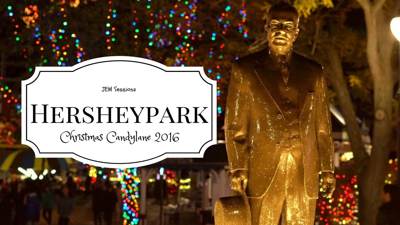 a beautiful christmas evening at hersheypark hershey park christmas 2016 youtube