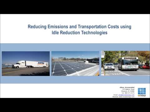 Improving Air Quality and Saving Fuel with Solar Powered Idle Reduction Technology