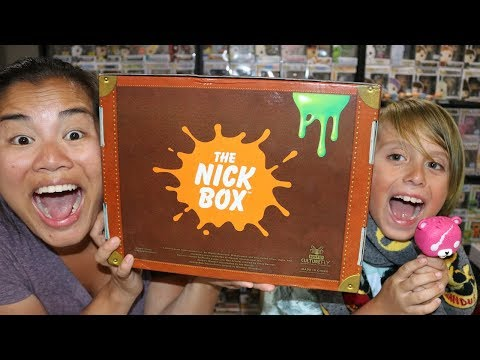 2019 Summer The Nick Box Unboxing with Jackson - [Bon Voyage]