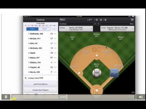 Video 3 Dynamic Baseball Game Changer Basic Scoring