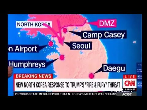 North Korea mocks Trump and threatens to launch four missiles near Guam Full Rolling Coverage