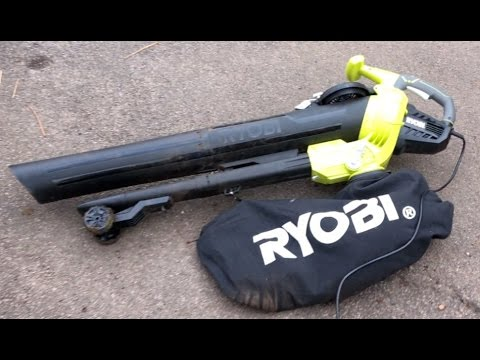 Ryobi Leaf Blower and Vacuum (RBV3000CESV) UK Review