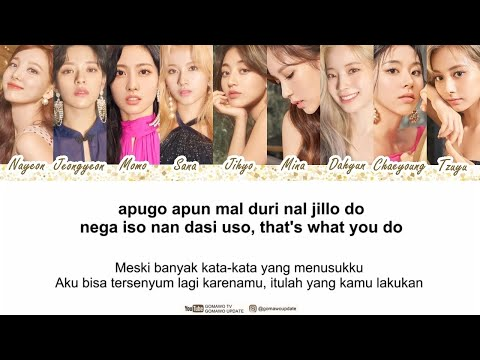 TWICE - Feel Special (Easy Lyrics + Indo Sub) By GOMAWO