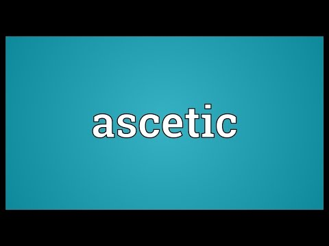 Ascetic Meaning
