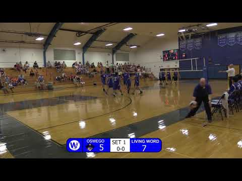 Oswego Boys Volleyball vs Living Word 9/25/17