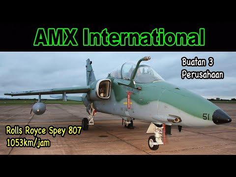 AMX International, Jet Tempur Buatan Italia/Brazil yang Bahkan Tidak Laku Dijual Di Indonesia