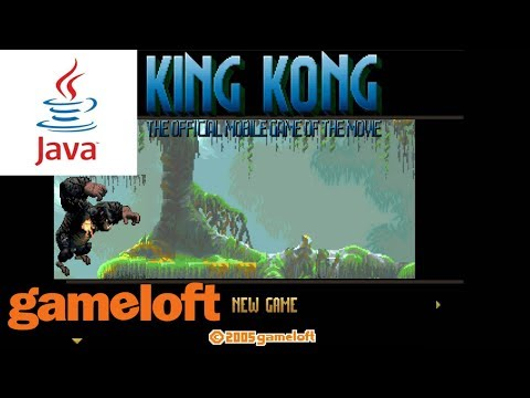 King Kong: The Official Mobile Game Of The Movie JAVA GAME (Gameloft 2005 Year) FULL WALKTHROUGH