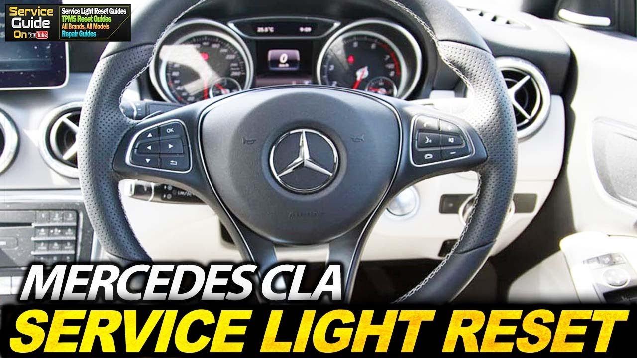 Mercedes Cla Service Light Reset