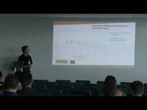 AMAZE Technology Forum: Selective laser melting of refractory metals