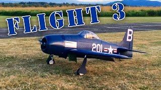 F8F Bearcat from JB Hobbies VQ Legend Models Flight 3