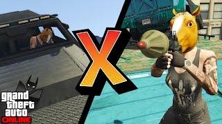 GTA V Online Versus #67: RPG VS INSURGENT! NÃO MATE O FI DÁÉGUA