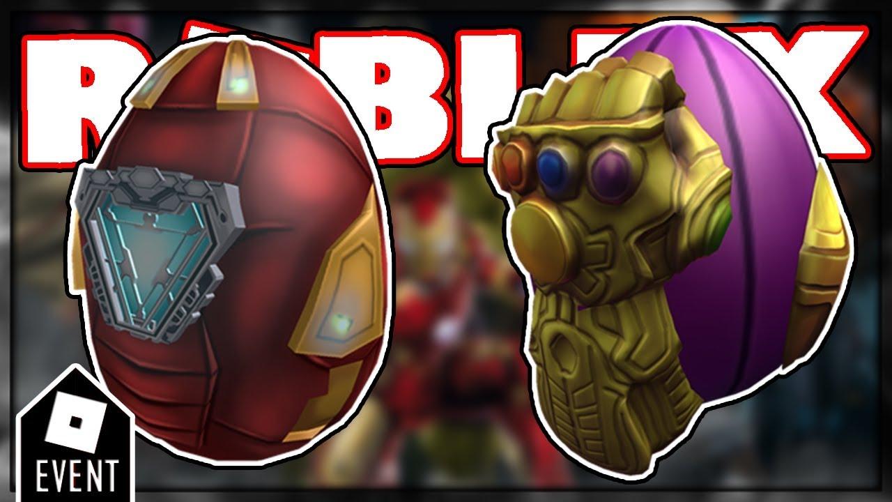 Leaks Roblox Avengers Endgame Eggs Roblox Egg Hunt 2019 Event - avengers endgame roblox event