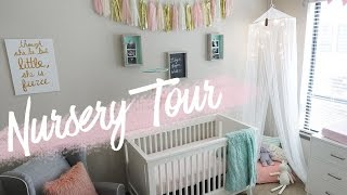 NURSERY TOUR | Baby Girl