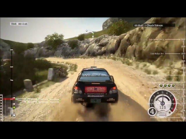 A historia de Colin McRae Rally/DiRT