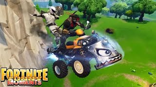 Fortnite Moments   *NEW* Quadcrasher is here to detroy!!! Fortnite Funny WTF Fails and Epic Moments
