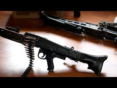 How To Build the MG42 / M53 / MG3 From a Parts Kit in Semi
