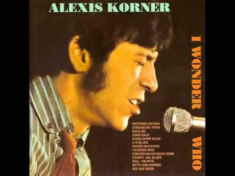 1967-I Wonder Who (Alexis Korner)