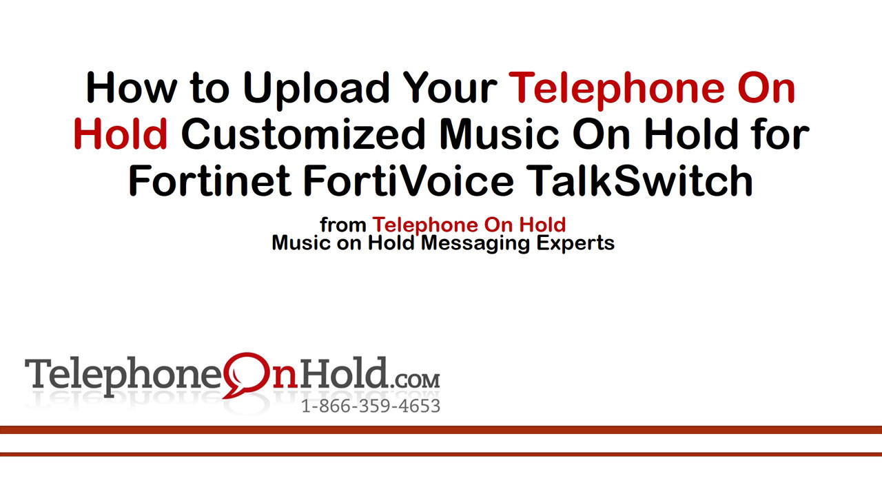 talkswitch on hold music
