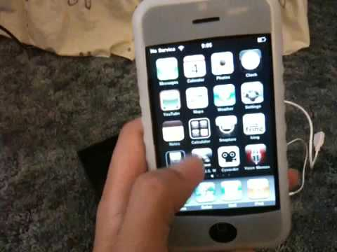 iPhone 2G cracked screen for sale