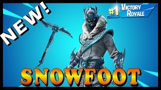 "NEW ""SNOWFOOT"" SKIN in FORTNITE - ""UNVAULTED LTM"" GAMEMODE in SQUADS // Playing With SUBS & RANDOM"