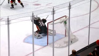 Video Ducks' Gibson flashes the leather on Golden Knights' Tuch download MP3, 3GP, MP4, WEBM, AVI, FLV November 2017