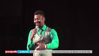 [COTONOU COMEDIE CLUB] ENCORE DE GRANDS MOMENTS D'HUMOUR EN PARTAGE