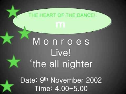 MONROES BLACKBURN ' I GET MY PLEASURE FROM PLEASING YOU' PETE DALEY JAN 2004