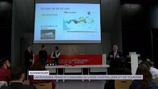 Yvelines | Guyancourt : Un échange franco-canadien au lycée d'hôtellerie et de tourisme