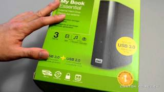 [Unboxing] Western Digital My Book Essential 3TB External Hard Drive