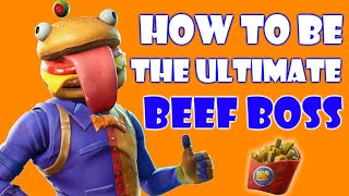 Fortnite BEEF BOSS LORE & BACKSTORY (Durrr Burger Skin)