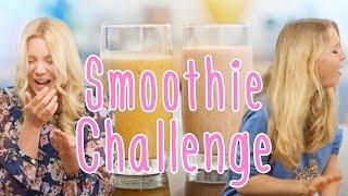 EXTREME SMOOTHIE CHALLENGE | Isabeau