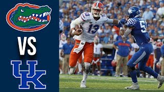 Week 3 2019 #9 Florida vs Kentucky Full Game Highlights 9/14/2019