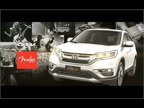 honda cr     prestige special edition fender audio commercial youtube