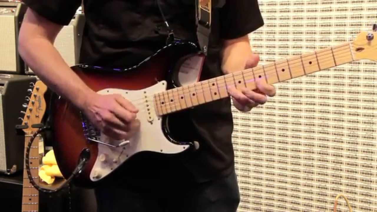 Fender American Standard Stratocaster Demo Live From Namm