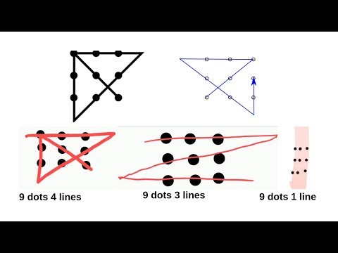 9 Dots 4 Lines | Here 9 Dots 1 Line | This Tricky Puzzle, Awesome Riddle Has Three Genius Solutions