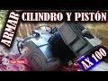 Suzuki Ax 100 Ensamble De Cilindro Pistón Y Culata | Toromotos