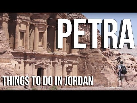 Petra Jordan Tour/Lost City Treasury | Tourism travel guide video (HD) | Travel Vlog