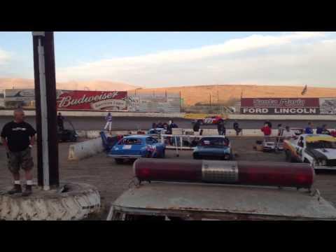 Santa Maria Speedway Hobby Stock Heat Race 9-22-12