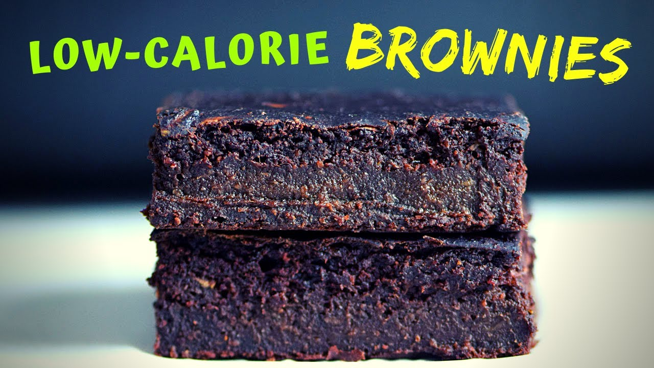 Zucchini Brownies (only 100 calories per piece!)