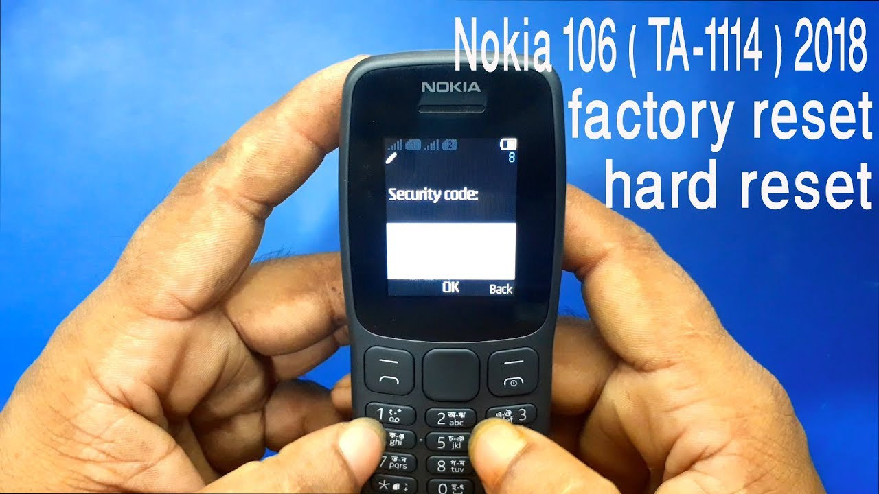 Factory reset nokia windows phone