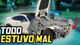 TODO SALIO MAL AL INTENTAR CAMBIAR EL FRENTE DE MI AMG GTS.. | ManuelRivera11