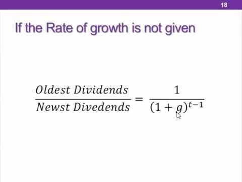 Finance - Chapter 7 (Part 1)