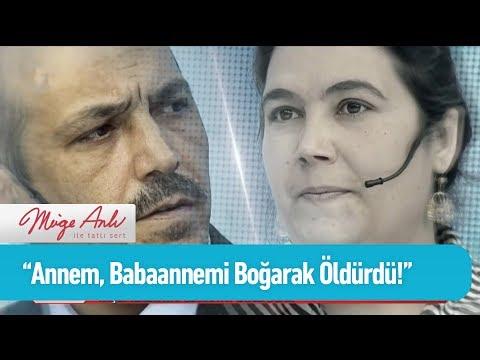 'Annem, babaannemi boğarak öldürdü!' - Müge Anlı ile Tatlı Sert 8 Mart 2019