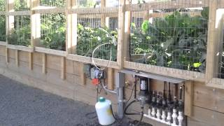 How To Build Raised Garden Bed With Pergola