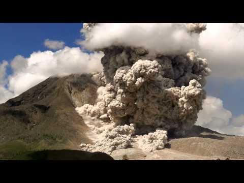 Sinabung pyroclastic flows
