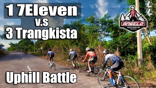 1 7Eleven vs 3 Trangkistas Uphill Battle (Tropang G-Star Year End Uphill Race)