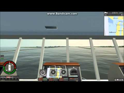 Ship Simulator Extremes Orient star arrival Port Of Rotterdam.wmv