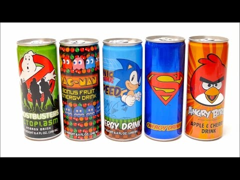 Ghotsbusters, PAC MAN, Sonic, Superman & Angry Birds Special Drinks Collection